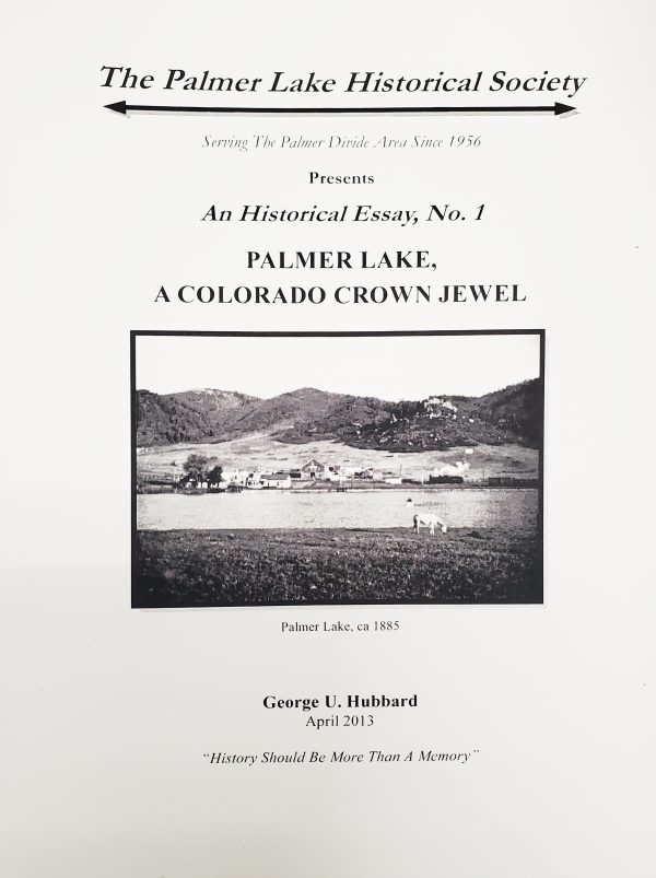Palmer Lake, a Colorado Crown Jewel front cover