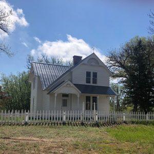 Reynolds Ranch House after restoration